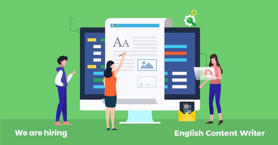 English Content Writer Job